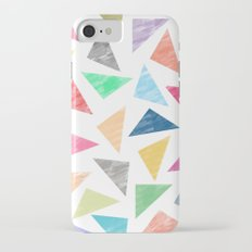 Colorful geometric pattern iPhone 7 Slim Case