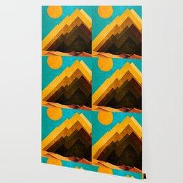 Desert Peaks Wallpaper