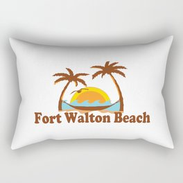 Fort Walton Beach - Florida. Rectangular Pillow