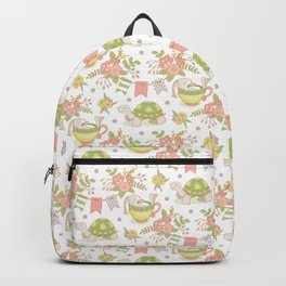 Hare and Tortoise -pattern- Backpack