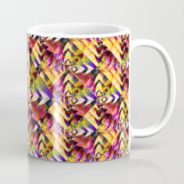 Number 1 Abstract by Mark Compton Coffee Mug