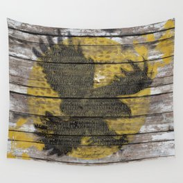 Eagle Sunset Wall Tapestry