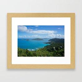 Caribbean Paradise Framed Art Print