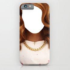 Lana Del face iPhone 6s Slim Case