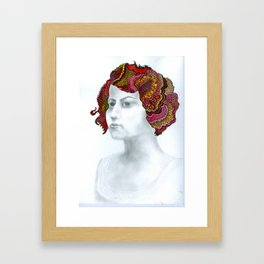 Painted Lady #1 For Sale!!!! Framed Art Print