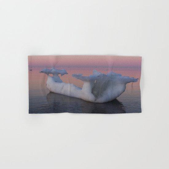 Viking Iceberg Ship Hand & Bath Towel