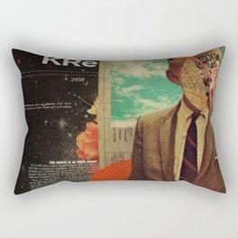 Exhaling My Thoughts Rectangular Pillow