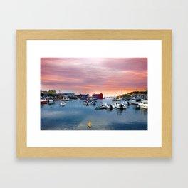 Landscape of Motif #1 (Rockport, Ma) Framed Art Print