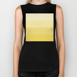 Four Shades of Yellow Biker Tank