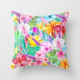 beauty floral i Throw Pillow