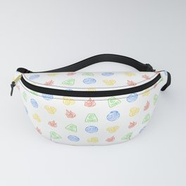 Element Symbols Fanny Pack