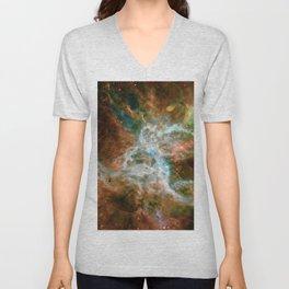 Tarantula Nebula Unisex V-Neck