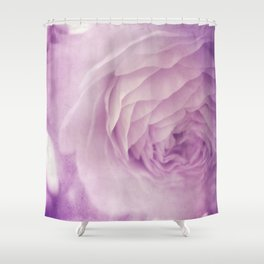Vintage Ranunculus Shower Curtain