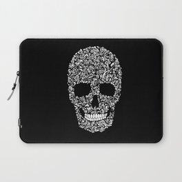 Inverse Skull Laptop Sleeve