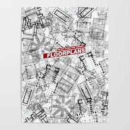 Floorplans! Poster