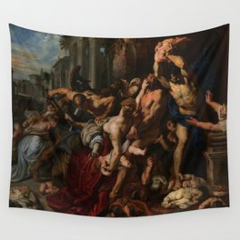 Peter Paul Rubens's Massacre of the Innocents Wall Tapestry