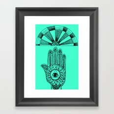 ▲△ Framed Art Print