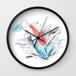 I love reading Wall Clock