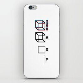 3D stereo iPhone Skin