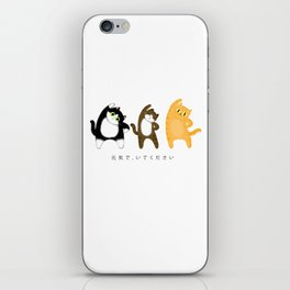 Stay healthy / Illustration iPhone Skin
