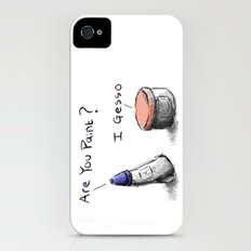 Silly Paint Slim Case iPhone (4, 4s)