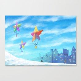 Star Travellers Canvas Print