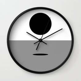 IN ANOTHER PLACE Wall Clock