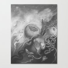 All You Restless Things Canvas Print