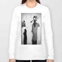 splatter Long Sleeve T-shirts featuring Splatter by Brandon Juarez