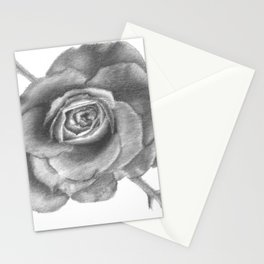 Charcoal Rose Stationery Cards