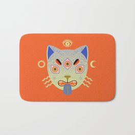Mystic Cat Bath Mat