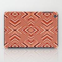 orange pattern iPad Cases featuring Pattern orange by Christine baessler