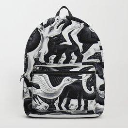 maurits cornelis escher - Mosaic II Backpack