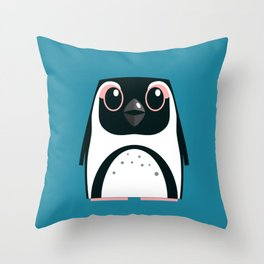 African Penguin - 50% of profits to charity Throw Pillow