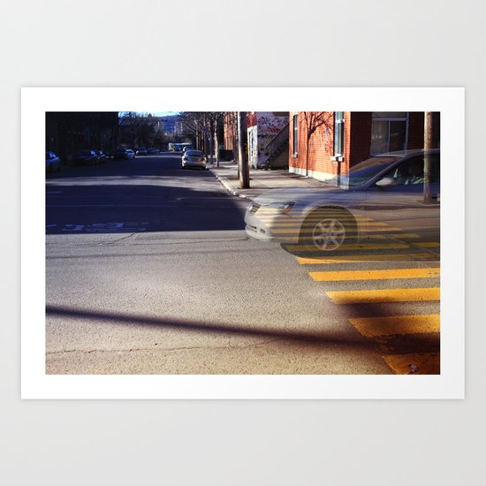 The existence of a moment Art Print