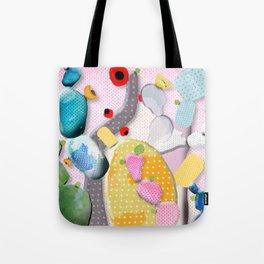 Pink Cactus Mexico Lindo Tote Bag
