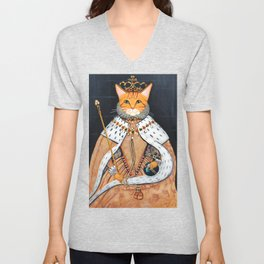The Ginger Queen's Coronation Unisex V-Neck