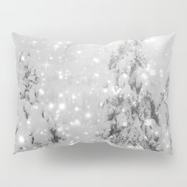 Silent Night - B & W Pillow Sham