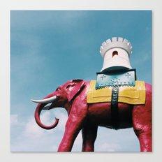 Elephant and Castle Canvas Print