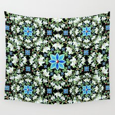 Beaux Arts Folkloric Lily Wall Tapestry