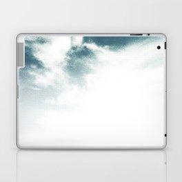 Halftone Clouds Laptop & iPad Skin