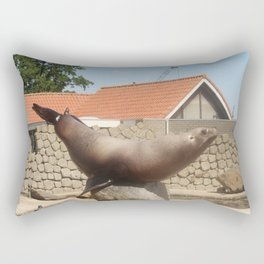 Seal Doing A Trick Rectangular Pillow