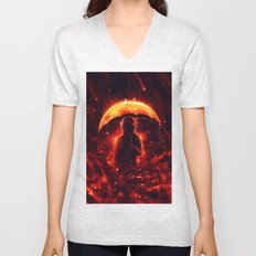 Cosmic Rain Unisex V-Neck