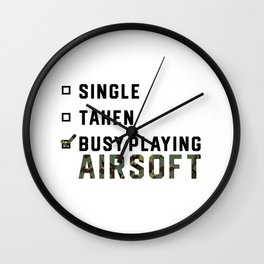 Single Relationship Airsoft Airsoft BBs Gift Wall Clock