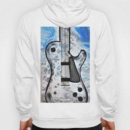 Guitar Art. Abstract Guitar. Rock and Roll. Gibson Guitar. Hoody