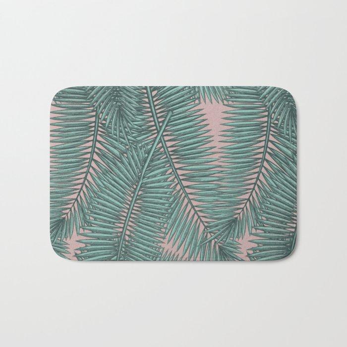 Palm dawn Bath Mat
