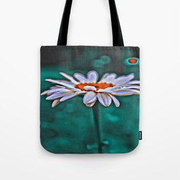 Painted Daisey Tote Bag