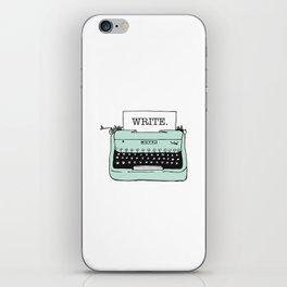 TYPE{WRITE}R iPhone Skin