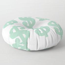 Mint Dollars Floor Pillow
