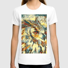 AnimalArt_Owl_20170917_by_JAMColorsSpecial T-shirt